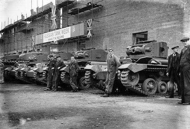 21 октября 1941 года, Великобритания. Танки для Красной армии