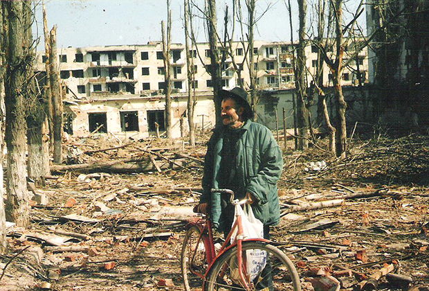 Грозный в первую чеченскую