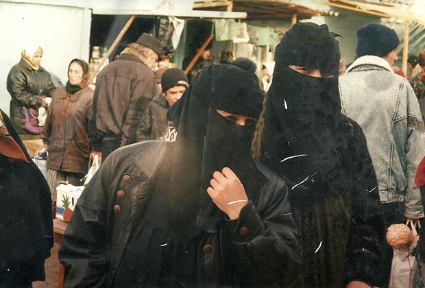 Чеченские «ваххабитки»