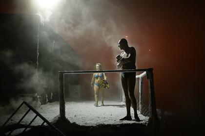 Непослушных любителей купаний при минус 60 в Норильске ждет особый разговор