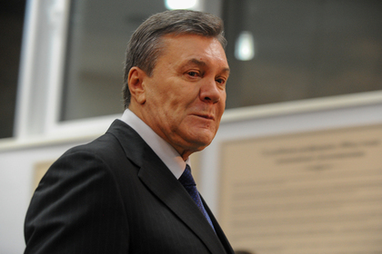 Янукович затосковал по родине
