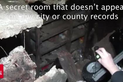 Американка нашла тайную комнату в собственном доме
