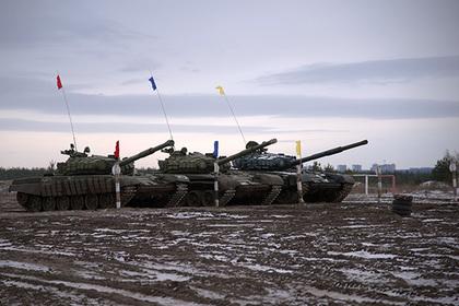 Российского срочника раздавило танком на танковом биатлоне
