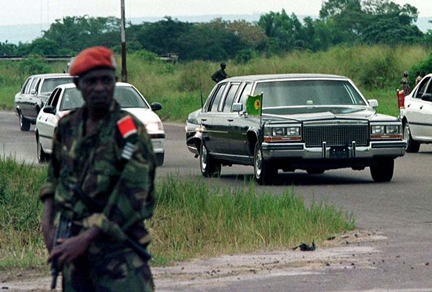 Президентский кортеж Мобуту