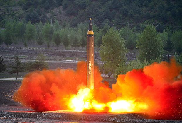 Северокорейские ракетные испытания в 2017-м серьезно осложнили отношения между Сеулом и Пхеньяном