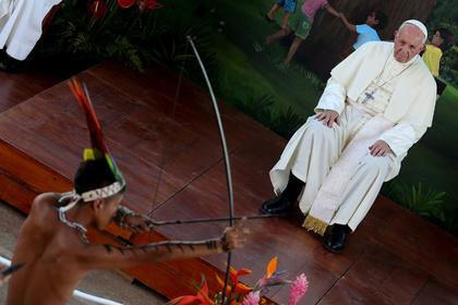 Папа Римский озаботился проблемами индейцев