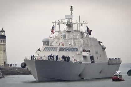 Самый новый американский боевой корабль вышел в 1-ый поход изастрял