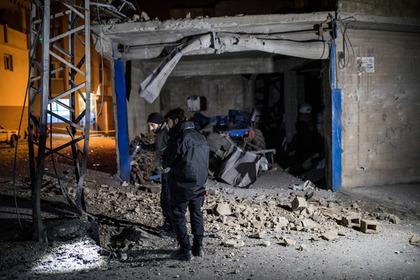 Турцию обстреляли с территории Сирии