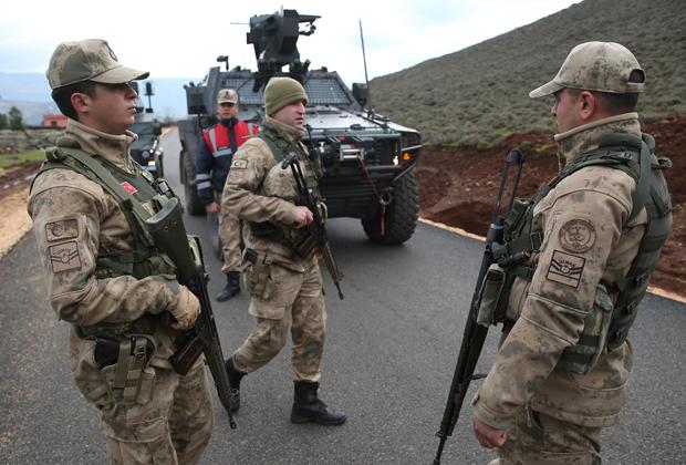 Турецкие бойцы