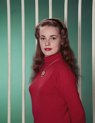 Жанна Моро, около 1955 года.