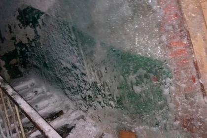 На Урале нашли второй за неделю «ледяной дворец»