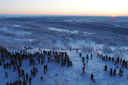 Поток туристов вМурманскую область вырос
