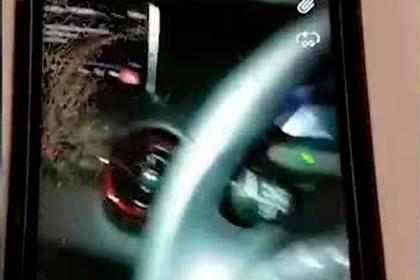 Пьяная австралийка попала в аварию в прямом эфире