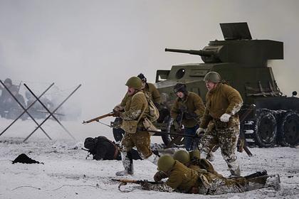 Пьяных реконструкторов прорыва блокады Ленинграда обезоружила полиция