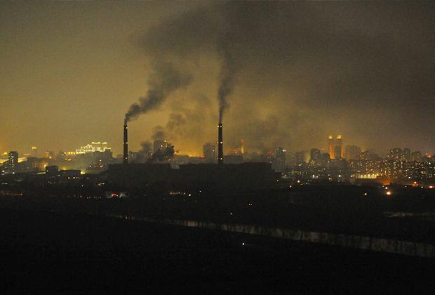 Промышленные заводы в Северной Корее