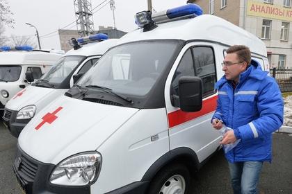 В подмосковном общежитии неизвестным газом отравились около 50 человек