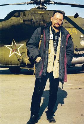 Автор на первой чеченской