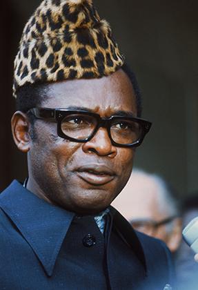 Экс-президент Заира Мобуту Сесе Секо