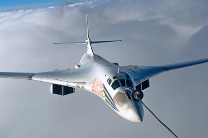 Сверхзвуковой стратегический бомбардировщик-ракетоносец Ту-160 «Виталий Копылов»