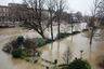 Затопленный городской парк. На восстановление разрушенного придется потратить миллионы евро.