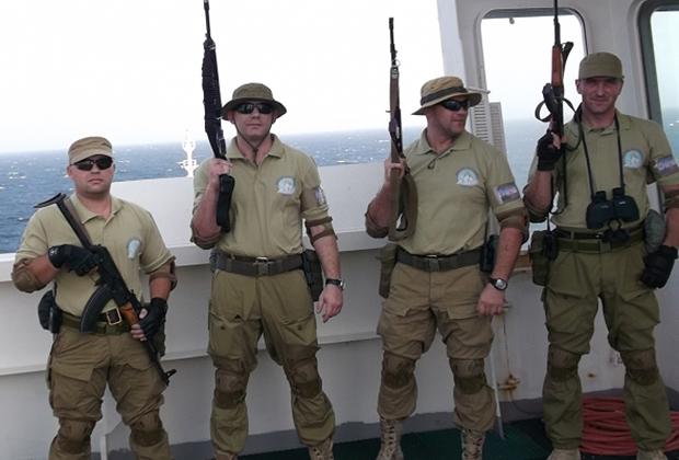 Специалисты MSG по борьбе с пиратами XXI века