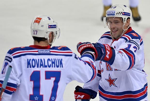 Илья Ковальчук и Павел Дацюк