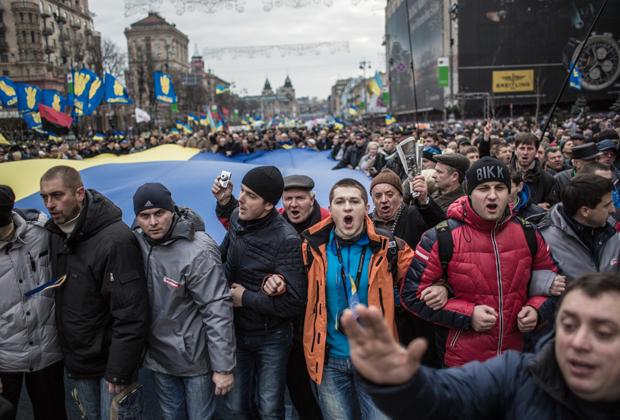 События Евромайдана в Киеве