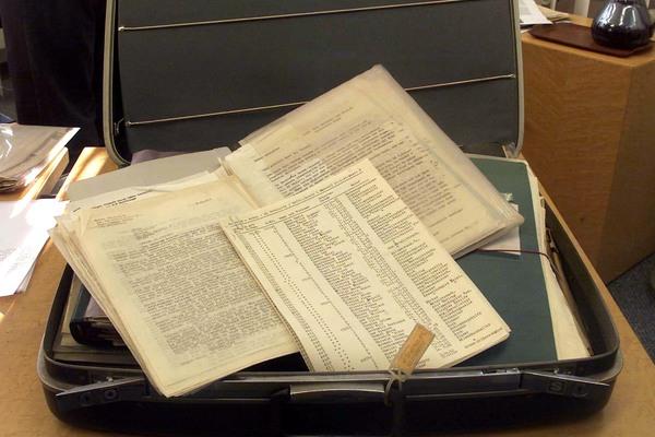 Рабочие бумаги Оскара Шиндлера