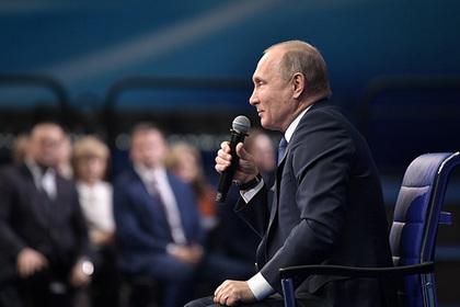 Путин призвал собственных доверенных лиц недавать неисполнимых обещаний гражданам