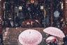 Фотограф из Японии сфотографировала снегопад перед старинными воротами Каминаримон в Токио. «В снежные дни так хорошо, даже несмотря на пробки», — говорит она.