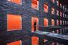 Градостроитель Йерун ван Дам сделал этот снимок в Национальном медиа-архиве Нидерландов в Хилверсуме. «Это одно из моих самых любимых зданий, — говорит он. — Чем глубже уходишь по галереям под землей, тем драгоценнее старые фильмы, которые хранятся внутри, — окна в давно забытые времена».