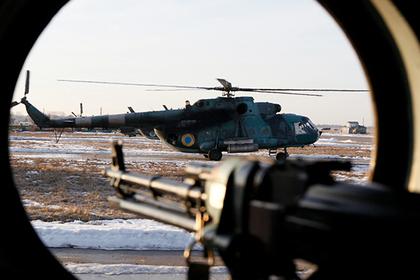 Украина перебросит кгранице сРоссией боевую технику ивертолеты
