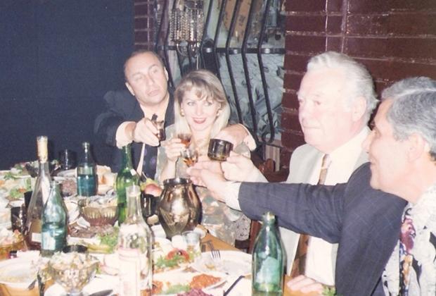 Борис Найфельд (Биба), Гиви Берадзе (Гиви Резаный) и Рафаэл Багдасарян (Сво Раф)
