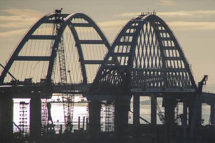 В сети появились новые фото Крымского моста