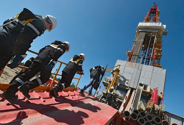 Добыча нефти компанией «Роснефть» в Нефтеюганске