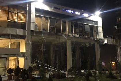 Вмногоэтажном здании налоговой инспекции вАнкаре произошел взрыв