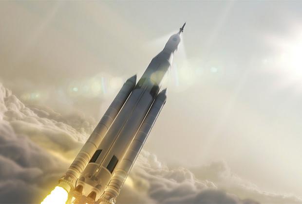 Сверхтяжелая ракета-носитель SLS