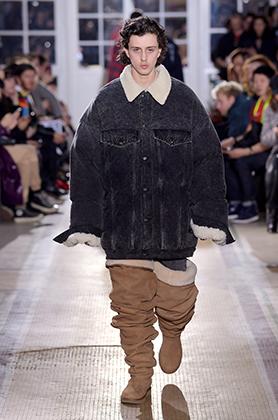 Показ Y/Project на Неделе мужской моды в Париже сезона осень-зима 2018-2019