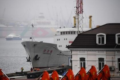 Северокорейский теплоход подал знак бедствия вводах Владивостока