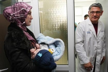 Хасан Баиев в больнице Грозного