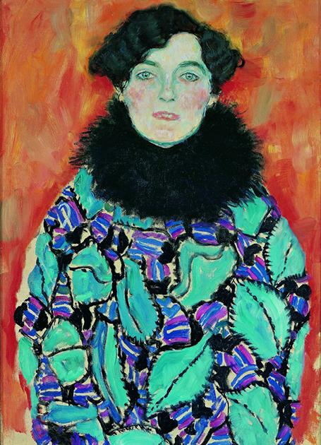 «Портрет Иоганны Штауде», 1918 год