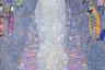 Серена Ледерер — близкая подруга Климта, под влиянием которой ее муж создал большую коллекцию работ художника: именно он, в частности, приобрел «факультетские» картины, от которых отказался Венский университет. К несчастью, все собрание было национализировано нацистами, которые в 1945 году подожгли дворец Иммерхоф, где оно хранилось. На этой картине — 20-летняя дочь Ледереров.