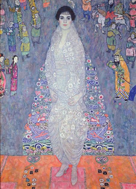 «Портрет Элизабет Ледерер (баронессы Элизабет Бахофен-Эхт)», 1916 год