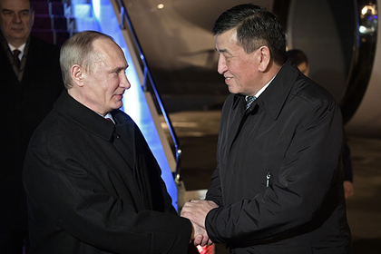 Россия простила Киргизии долг на $240 млн