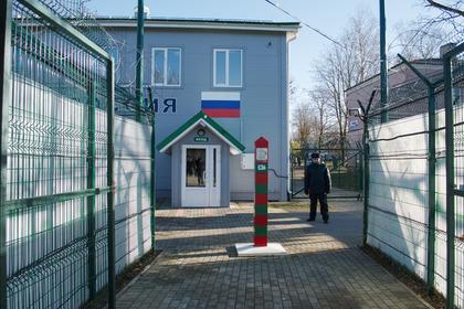 Эстония закончила разметку сухопутной границы сРоссией