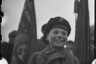 Юный партизан Миша Богданов (12 лет) — активный участник разведывательных и диверсионных операций. В отряде вместе с отцом с 1942 года. Ленинградский фронт, 1943 год.