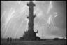 Салют в Ленинграде. Ленинградский фронт, 27 января 1944 года.