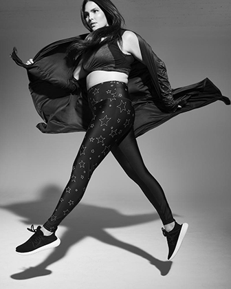 Кэндис Хаффин в съемке для Vogue