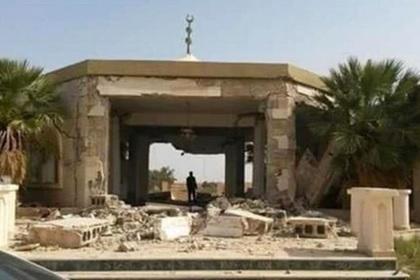 Усыпальницу матери Каддафи взорвали