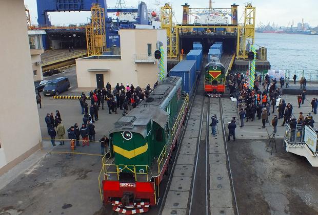 «Грузы из Украины поедут по новому пути в страны Средней Азии...»